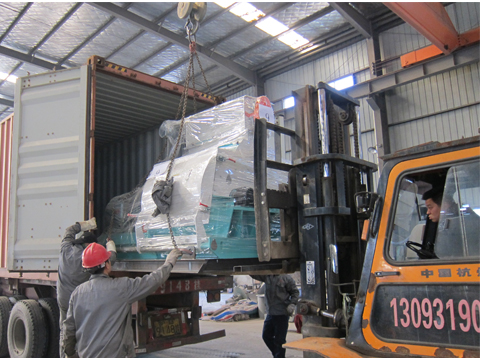 ATS machine export pelleting line to India