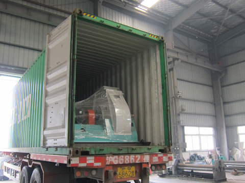 Feed Machine Export To Korea For 3nd Time