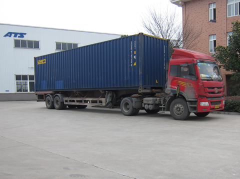 Shipment Of Feed Machines Export To Taiwan